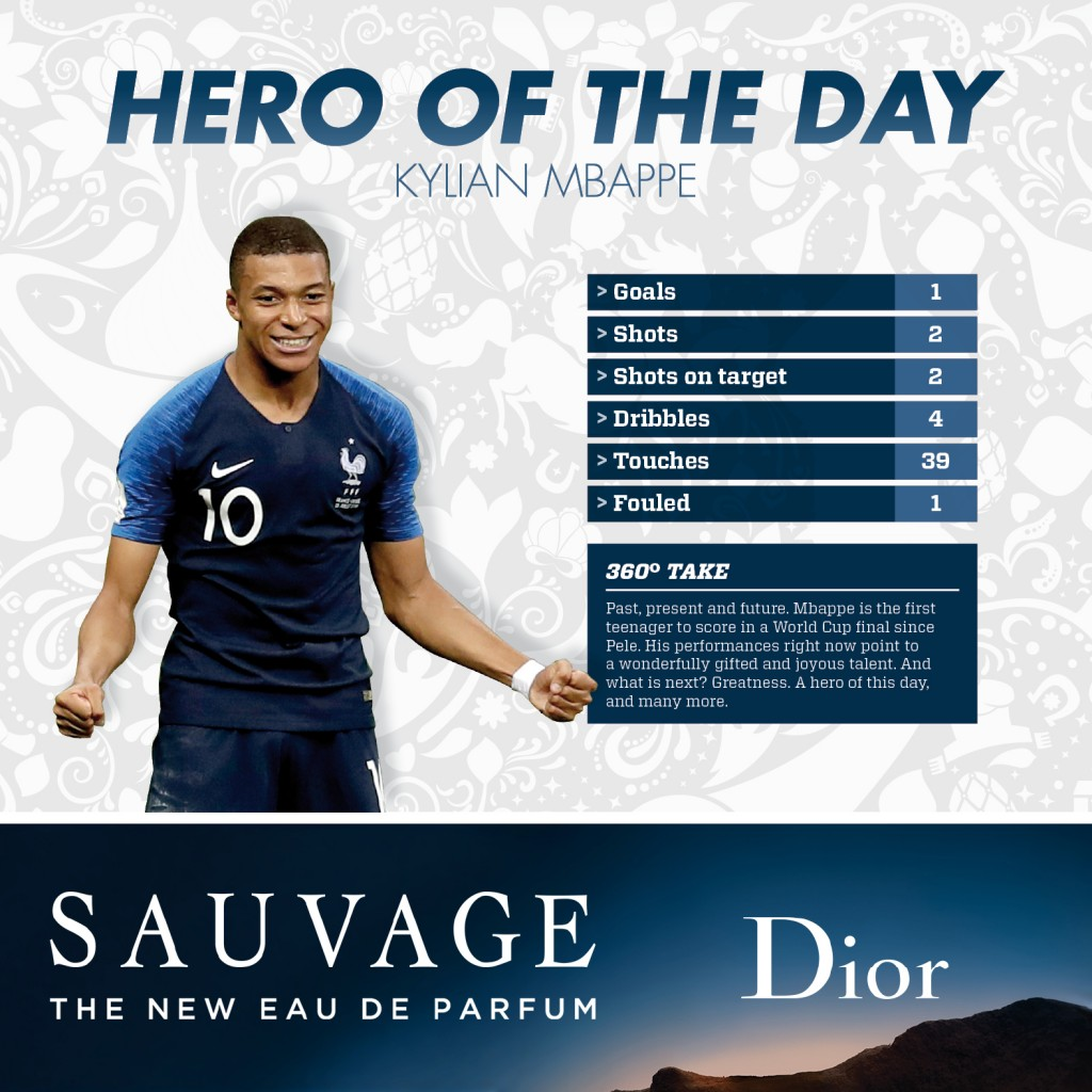15 07 hero of day Kylian Mbappe en