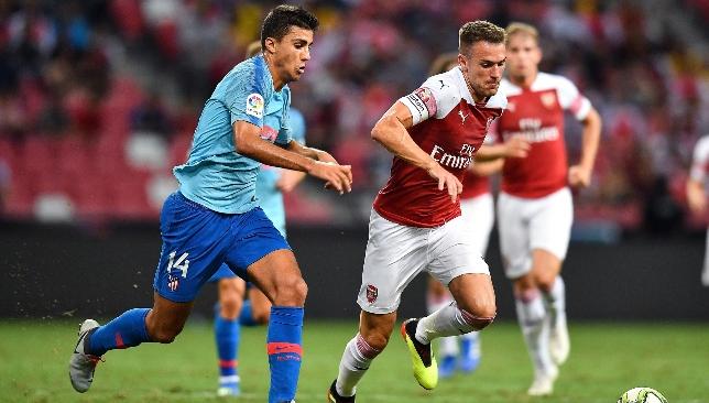 Aaron Ramsey's Arsenal future is uncertain.