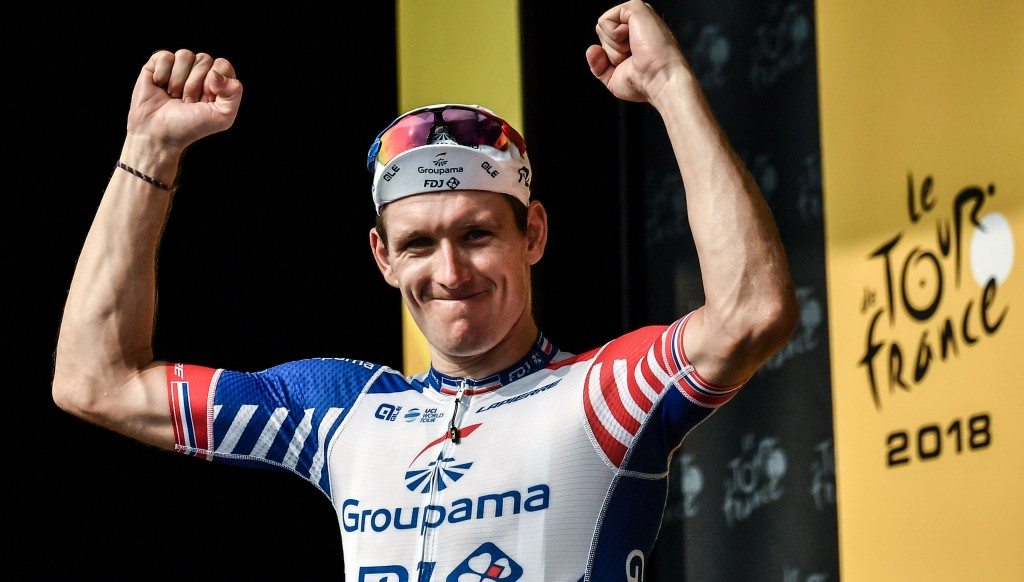 Arnaud Demare won Stage 18 of the Tour de France.
