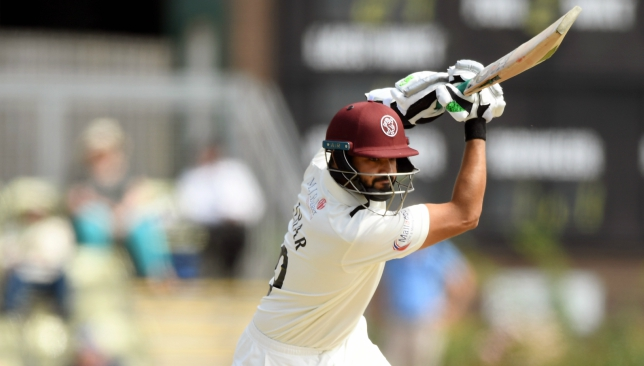 Azhar Ali scored 125 on debut for Somerset.