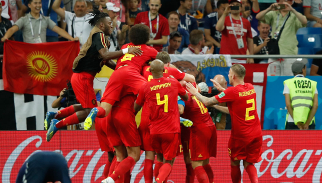 Belgium beat Japan in epic circumstances.