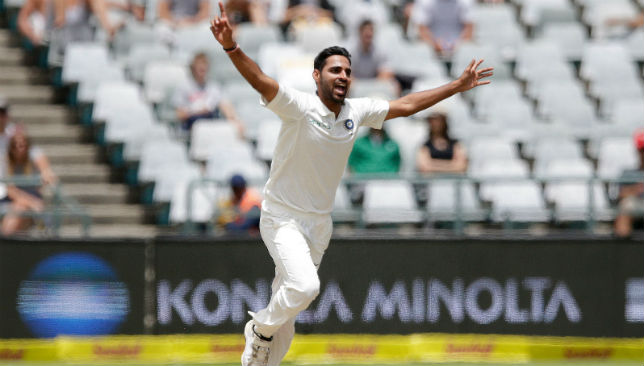 huvneshwar Kumar will miss the first three Tests