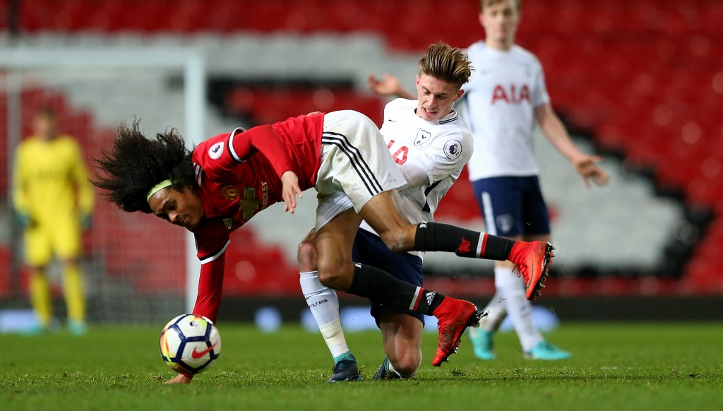 The 18-year-old is left-footed winger comfortable on either flank.