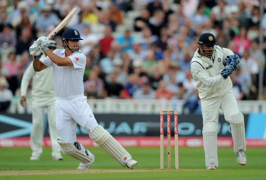 Alastair Cook scored 294 in the match