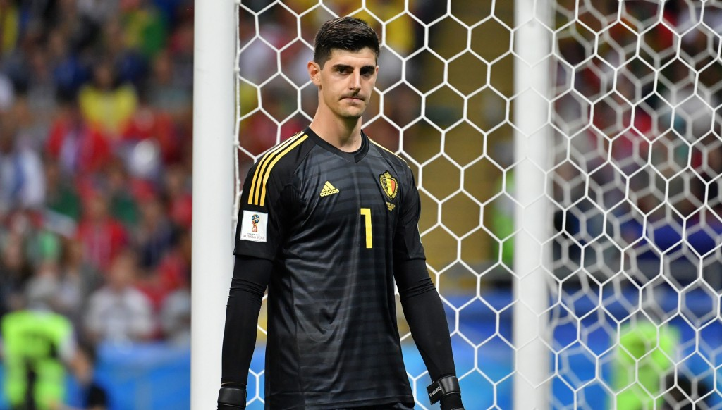 Courtois was named the best goalkeeper of the World Cup, and then for the whole season.