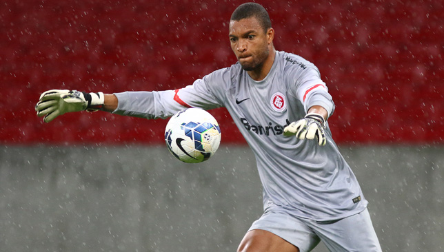 Dida provided stern competition at Internacional