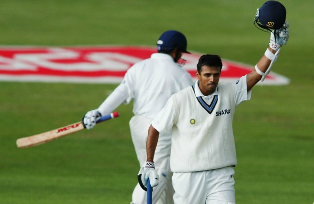 Dravid set up the platform for India's win with a gritty innings.