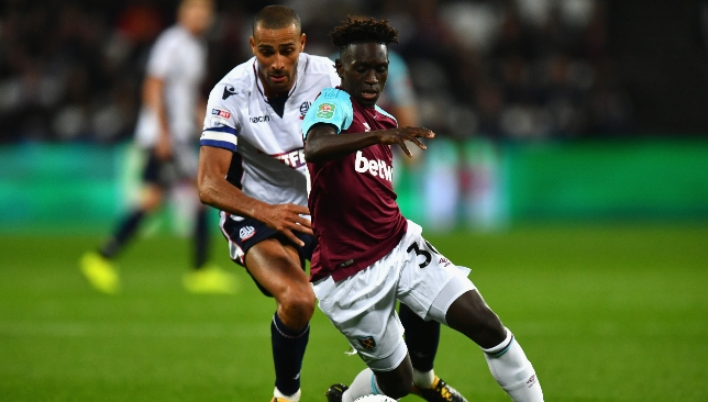 Domingos Quina featured on a handful of occasions last season.
