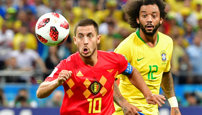 Brazil were beaten in the last eight by Belgium.