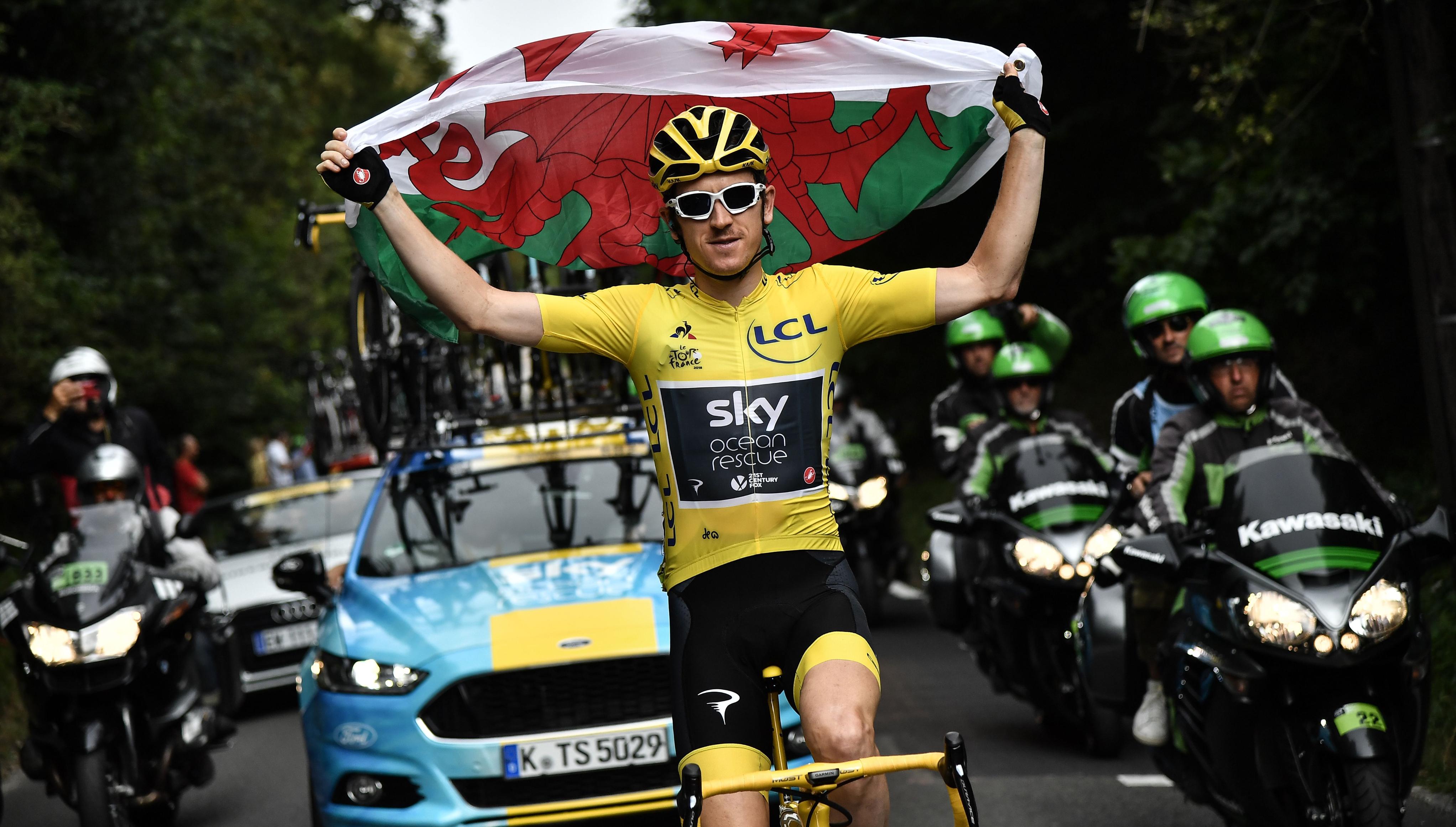 33e72d7e9 But Geraint Thomas  Tour de France triumph saw the Welsh wonder finally  ride down the aisle and throw away his days as a domestique.