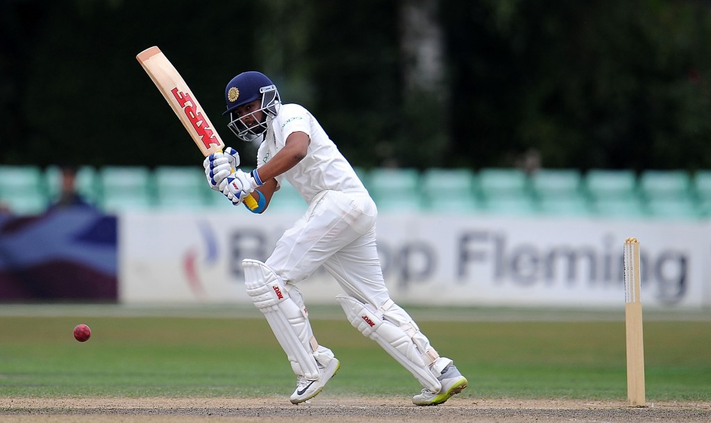 Prithvi Shaw top-scored for the visitors with 62.