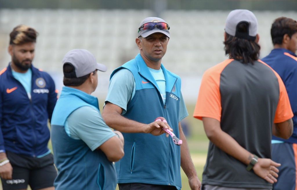Dravid coached the India A team in their tour of England.