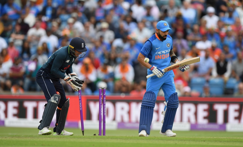 Rashid dismissed Virat Kohli twice in the ODI series.