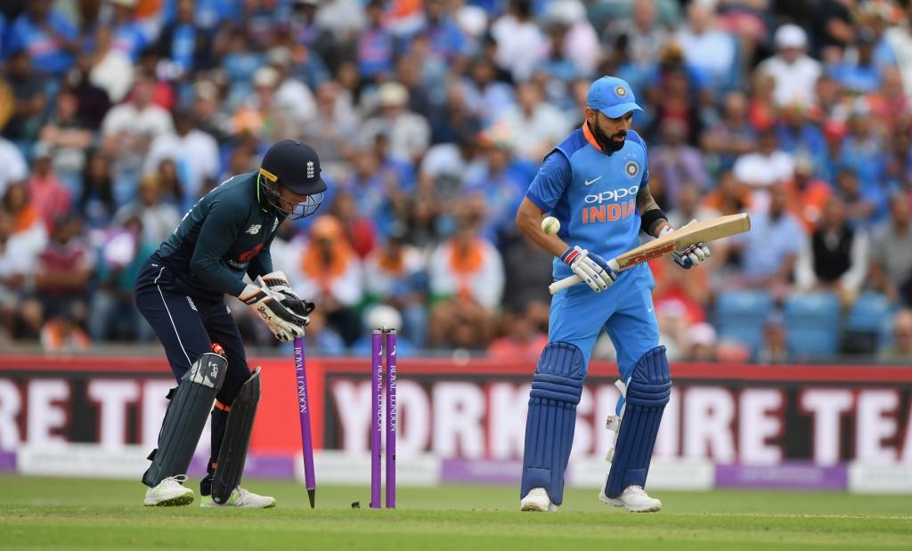 Rashid dismissed Virat Kohli twice in the three-match ODI series.