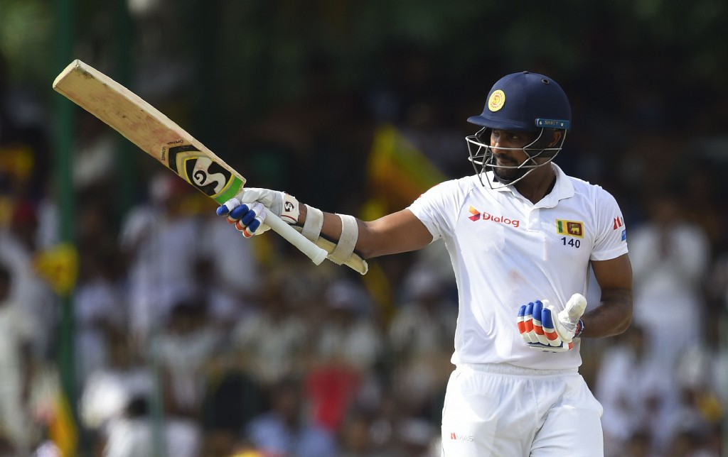 Gunathilaka registered two half-centuries in the ongoing Test.