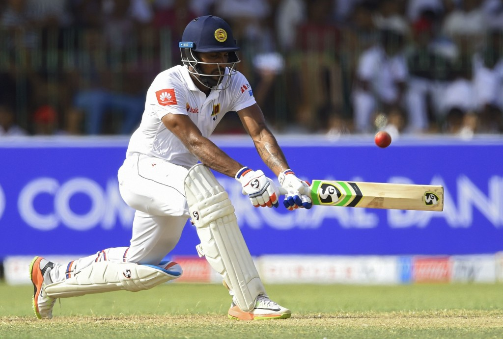 Gunathilaka had crached fifties in both innings of the second Test.