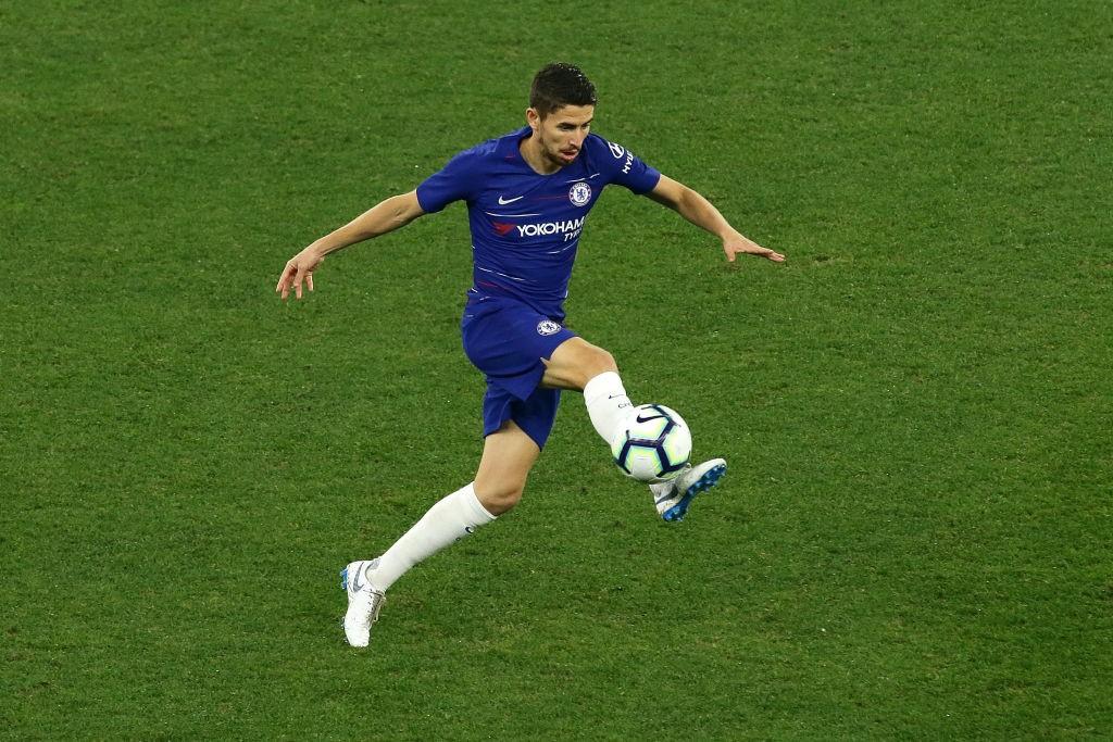 In control: Jorginho.