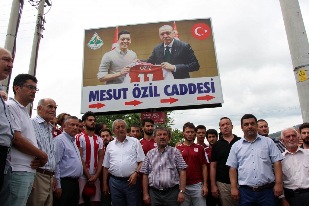 Ozil's image with the Turkey President ignited the controversy.