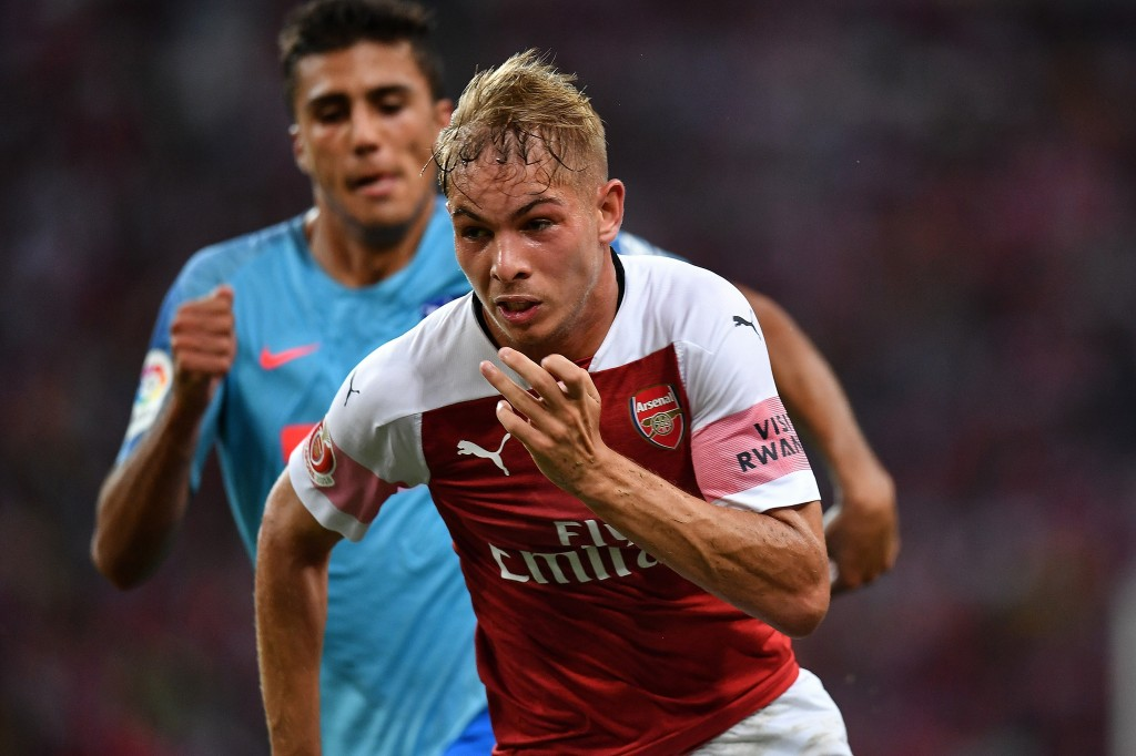 Youngster Emile Smith Rowe had scored Arsenal's equaliser.