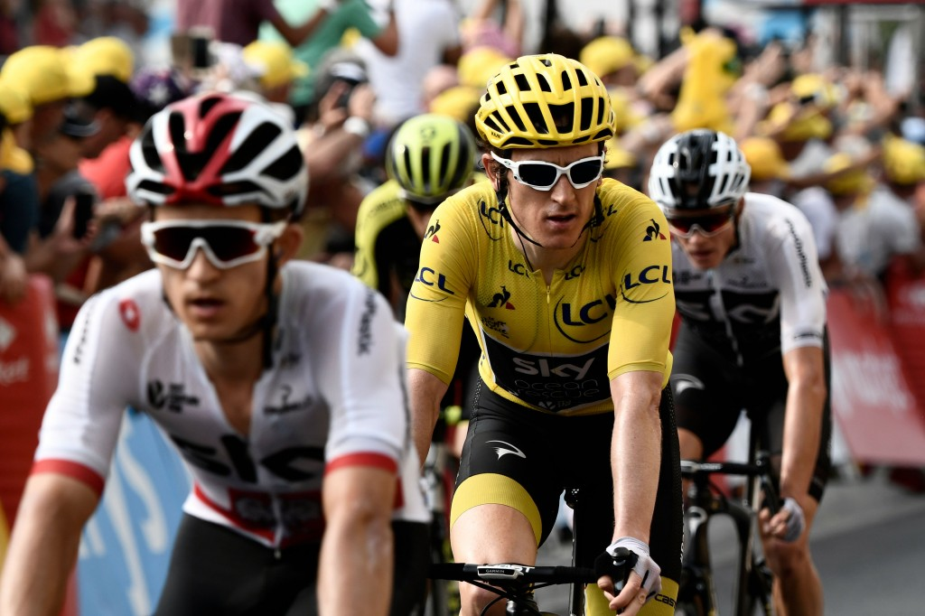 Thomas has strengthened his hold over the yellow jersey.