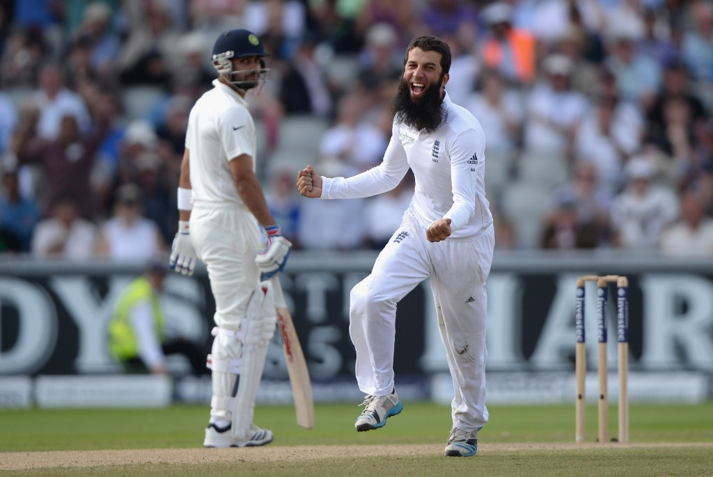 Moeen Ali had picked up 19 wickets in India's tour of 2014.