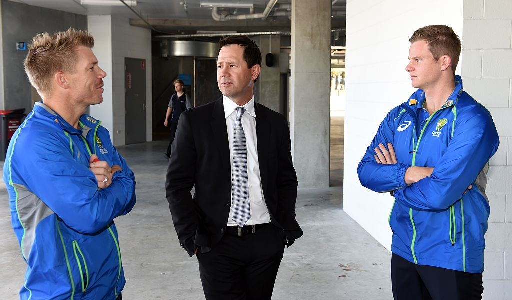 Ponting believes Smith (R) would hold that title were he not banned.