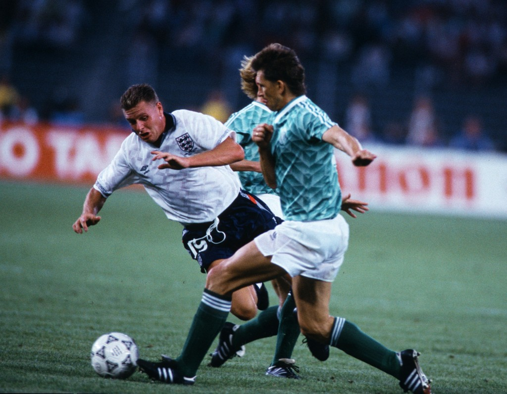 ITA: World Cup 1990 - England v Germany