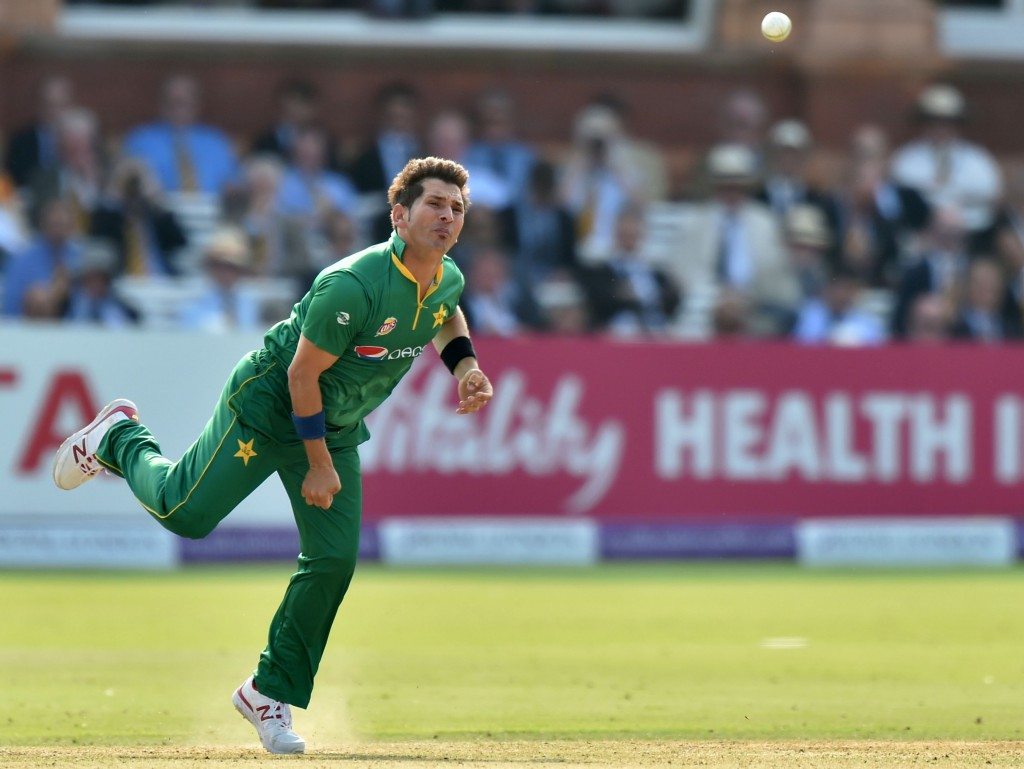 Yasir Shah played an ODI after two years.