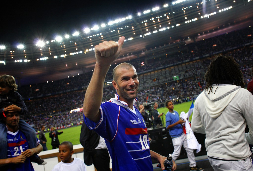 Zinedine Zidane won the World Cup in 1998 with France and won the Golden Ball in 2006.