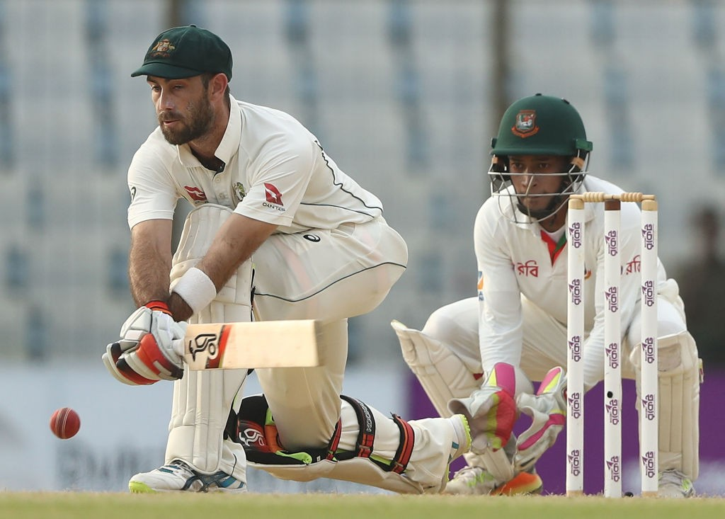 Maxwell's last Test appearance came against Bangladesh.