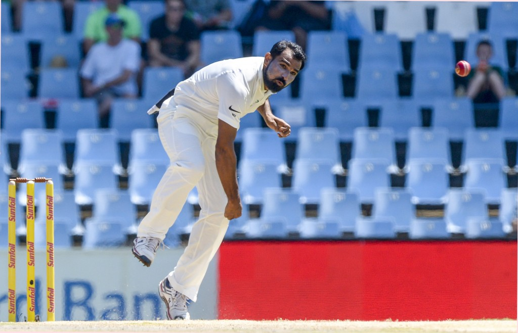 Shami failed to generate any rhythm in his bowling.