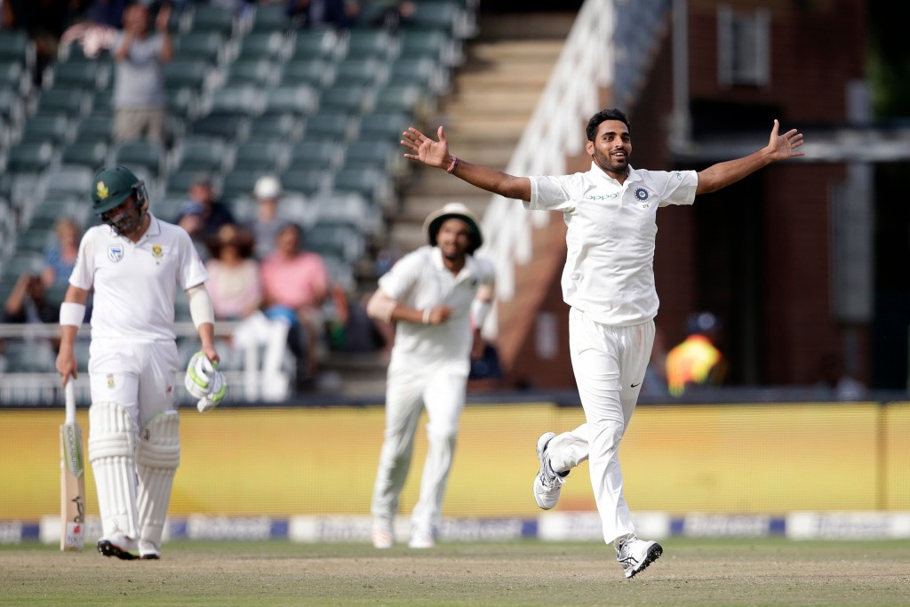 Bhuvneshwar Kumar has been ruled out of the first three Tests.