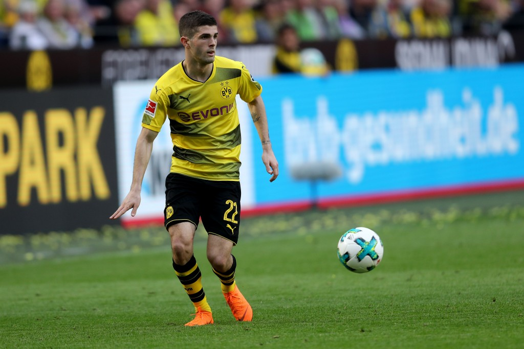 Christian Pulisic is yet to reach 100 senior appearances at club level, but already clubs are taking note