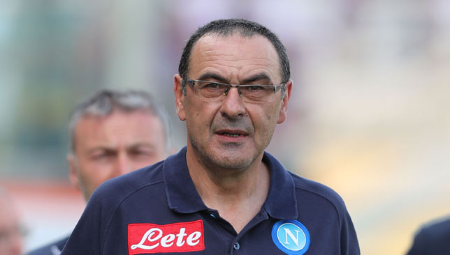 Sarri's Napoli pushed Juventus all the way in Serie A last season.