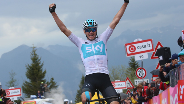 Chris Froome is the defending Giro champion.