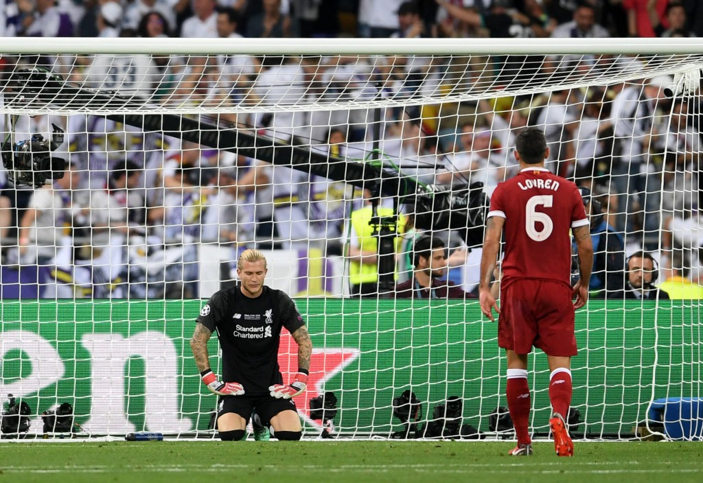 Karius was guily of two high profile errors in the final against Madrid.