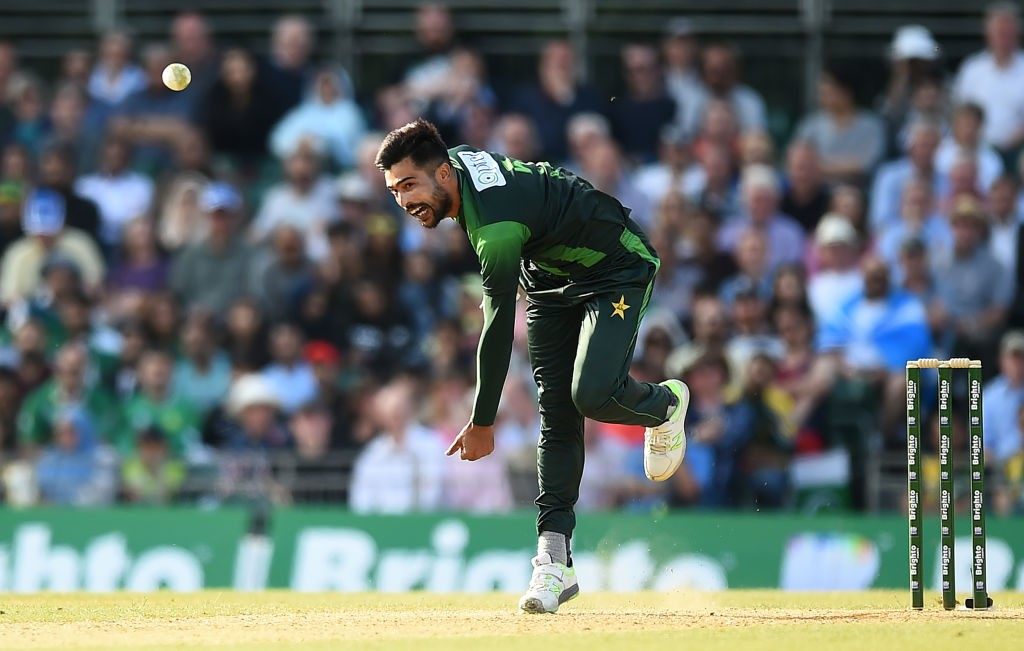 Amir has not been called upon in the two matches so far.