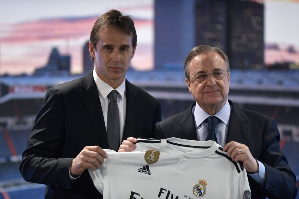 Lopetegui will instantly be under pressure if Madrid lose.