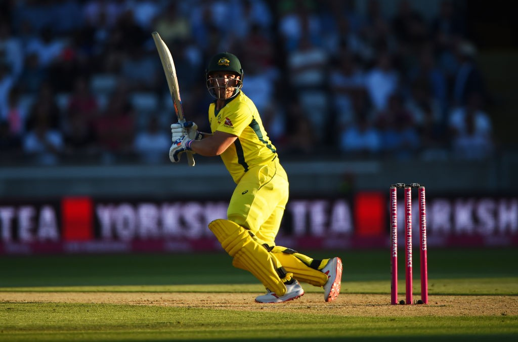 Finch was back at his fluent best in an innings containing six sixes.