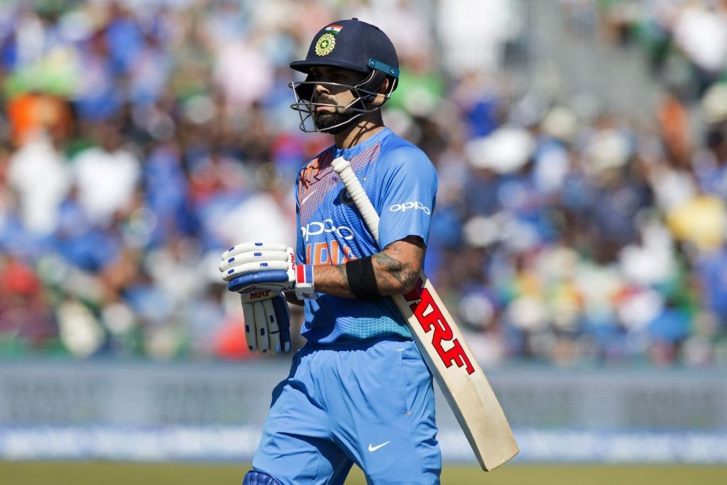 Kohli wants to lead by example.