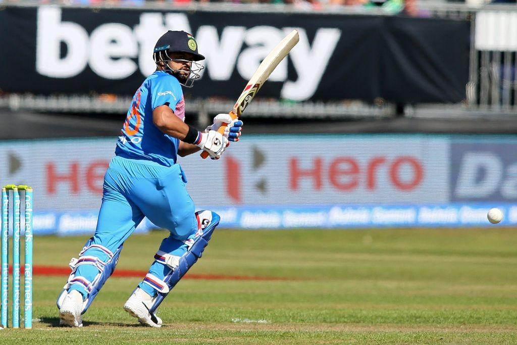 Rayudu was replaced by Raina in India's ODI squad.