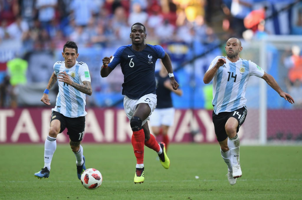Paul Pogba was excellent against Argentina.