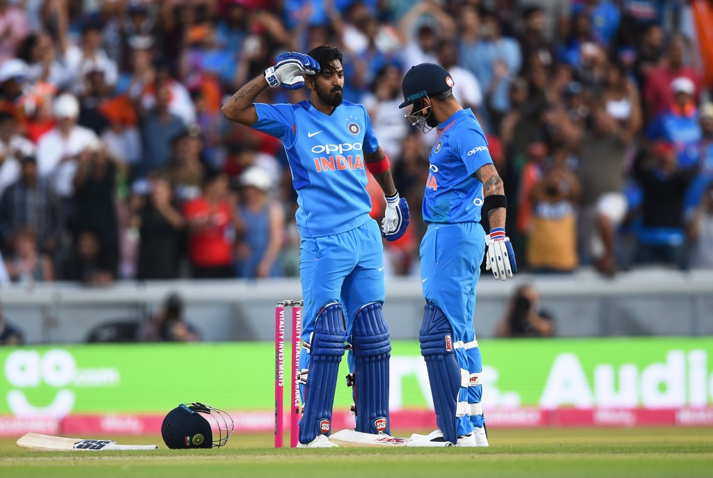 Rahul struck a magnificent ton batting at No3 in the first T20.