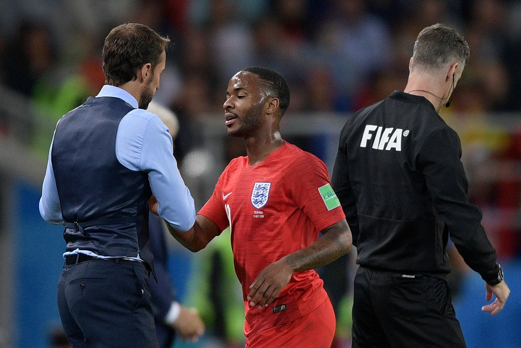 Raheem Sterling is key to England's set-up.