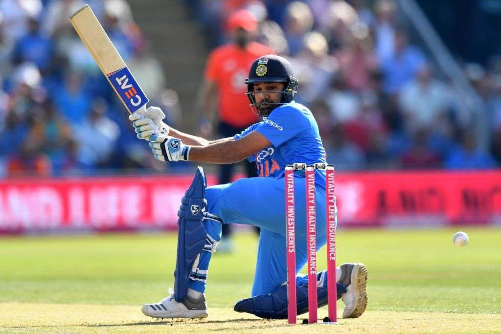Rohit Sharma is just 14 runs shy of the 2, 000-run mark.