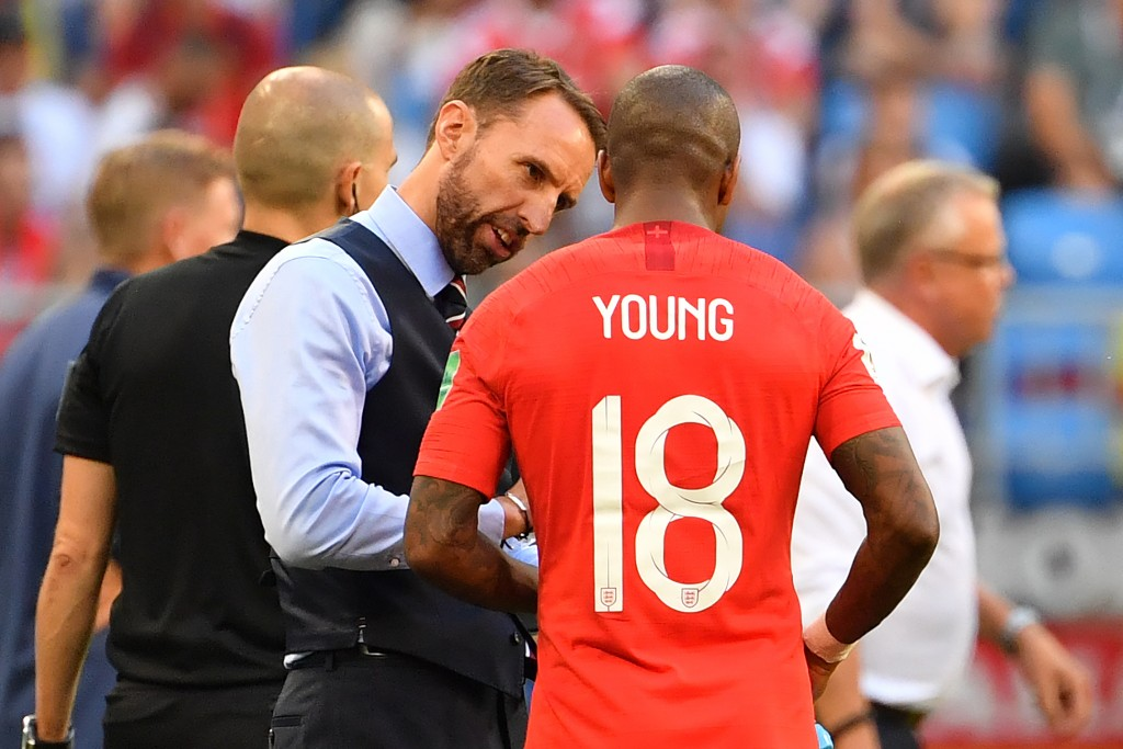 Young has been a key figure in Southgate's England squad.