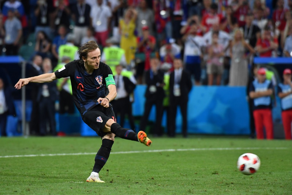 Walker is wary of the threat posed by Croatia's Luka Modric.