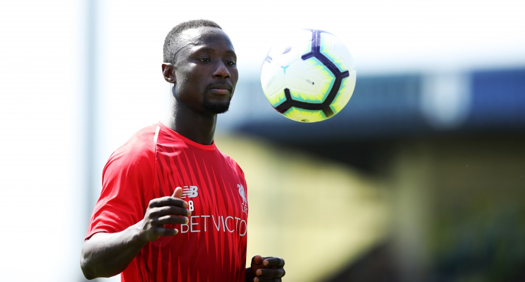 Keita will don Gerrard's iconic number eight jersey