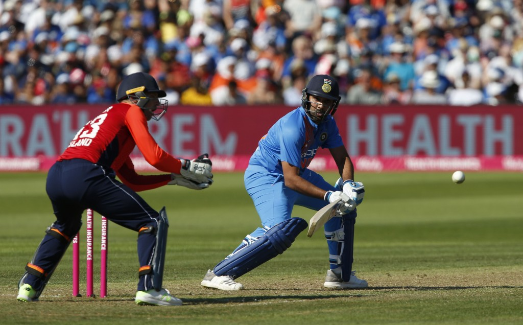 Rohit Sharma put on a batting masterclass at Bristol.