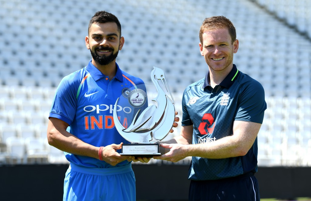 No1 ranked England will battle No2 ranked India in the ODI series.